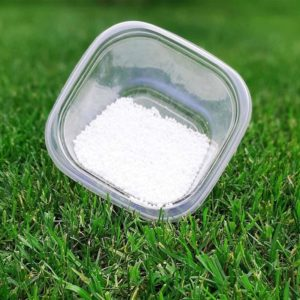 Urea fertilizante de pasto
