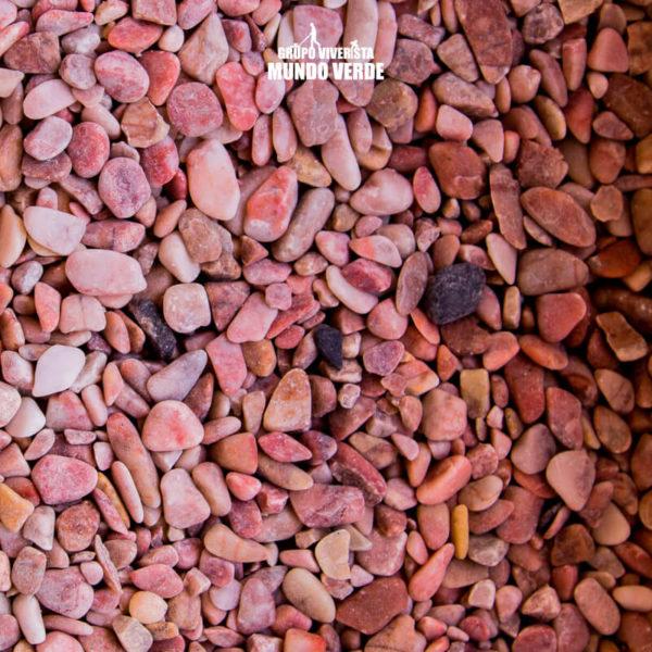 Piedra de mármol rosa