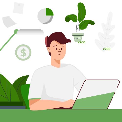 Comprar plantas al por mayor