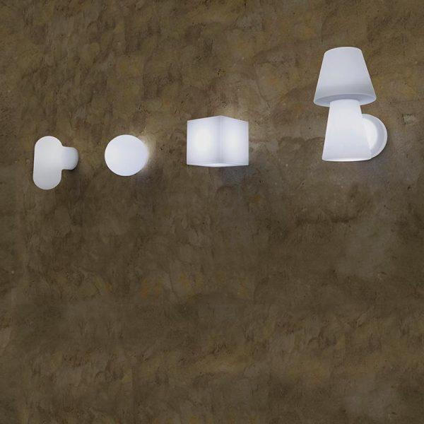 arbotante de pared cuby 1
