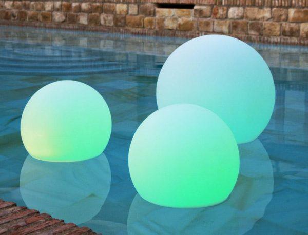 buly family esfera iluminada solar 2