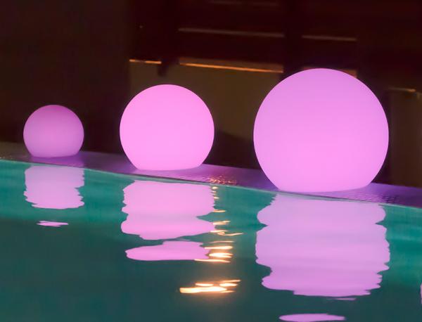 buly family esfera iluminada solar