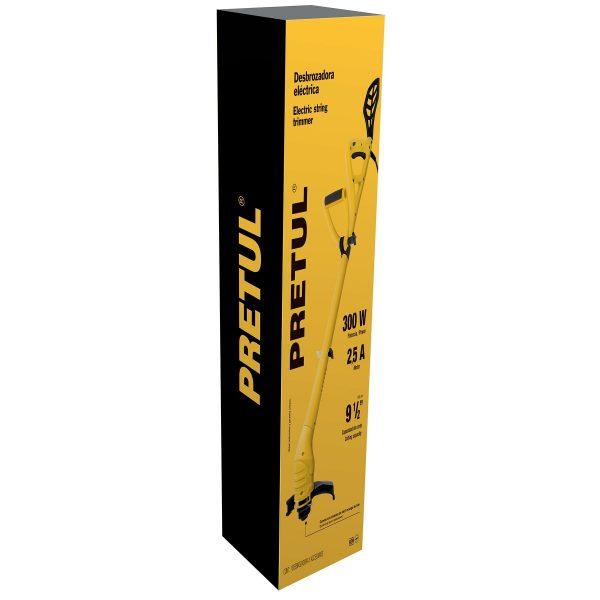 desbrozadora electrica 300 w 9 de corte mango d pretul 3