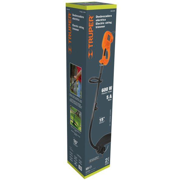 desbrozadora electrica 600 w 15 de corte mango d 3