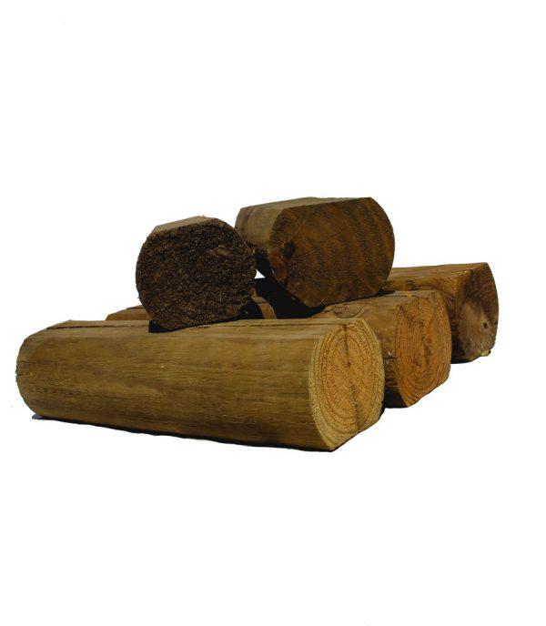 madera semi circular